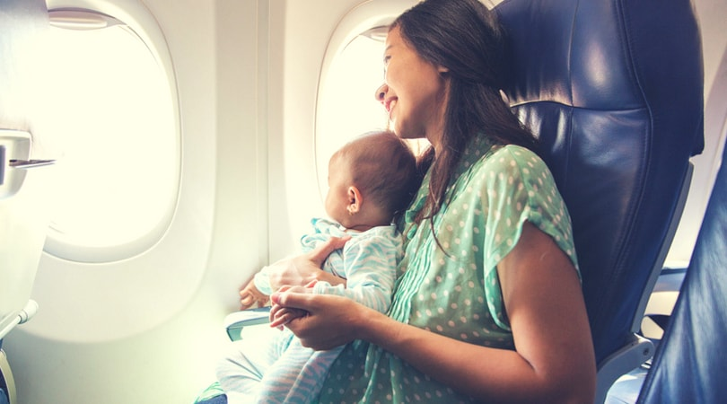 How to Survive and Calm a Crying Child on the Plane